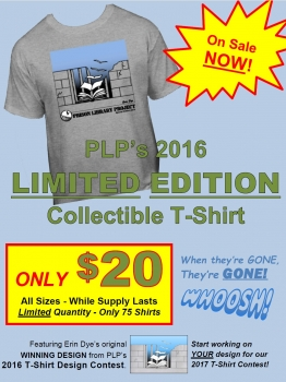 PLP 2016 Tee Shirts Are Here!